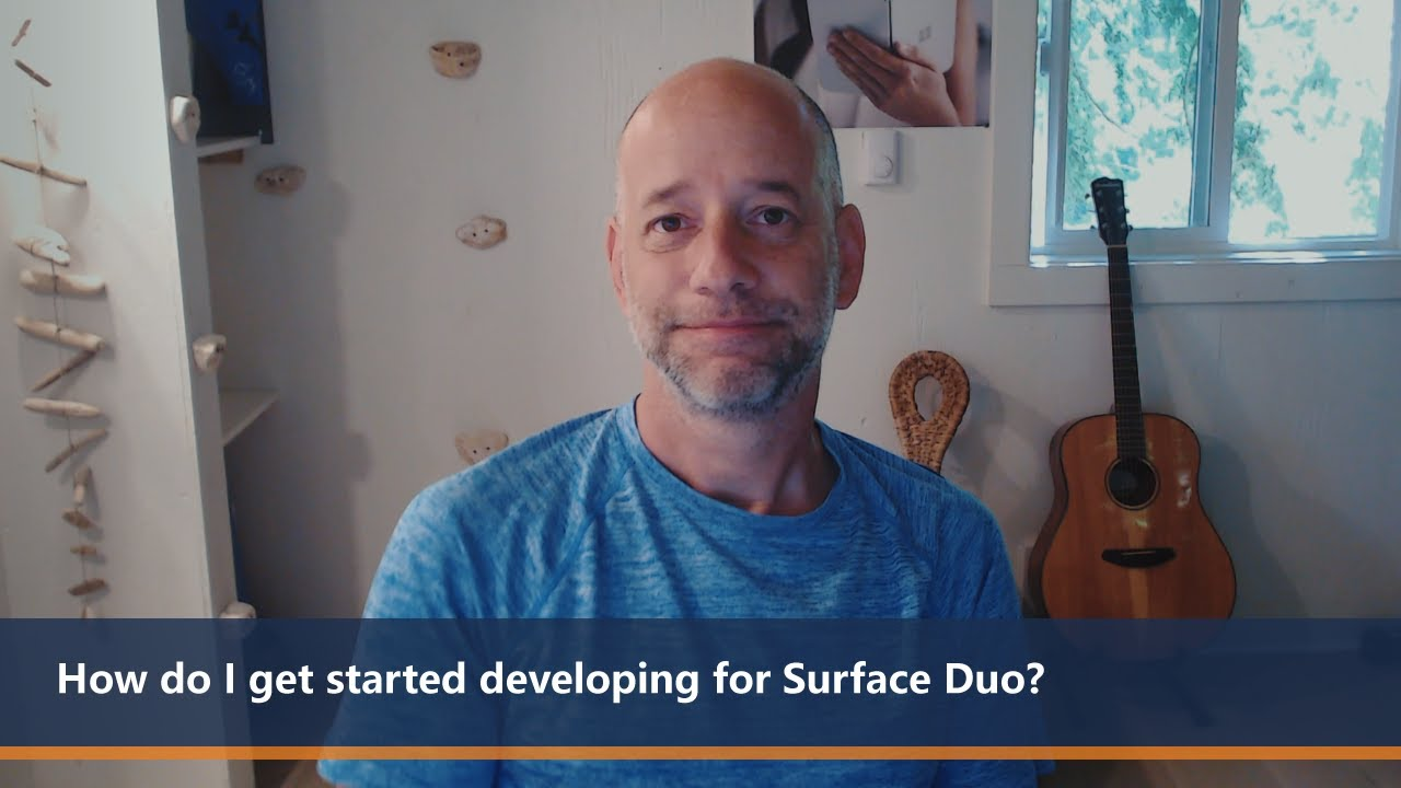 How do I get started developing for Surface Duo? | One Dev Minute