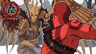 SIGRUN; THE VALKYRIE QUEEN! (ENDING)   God of War (Live Stream Episode 16)