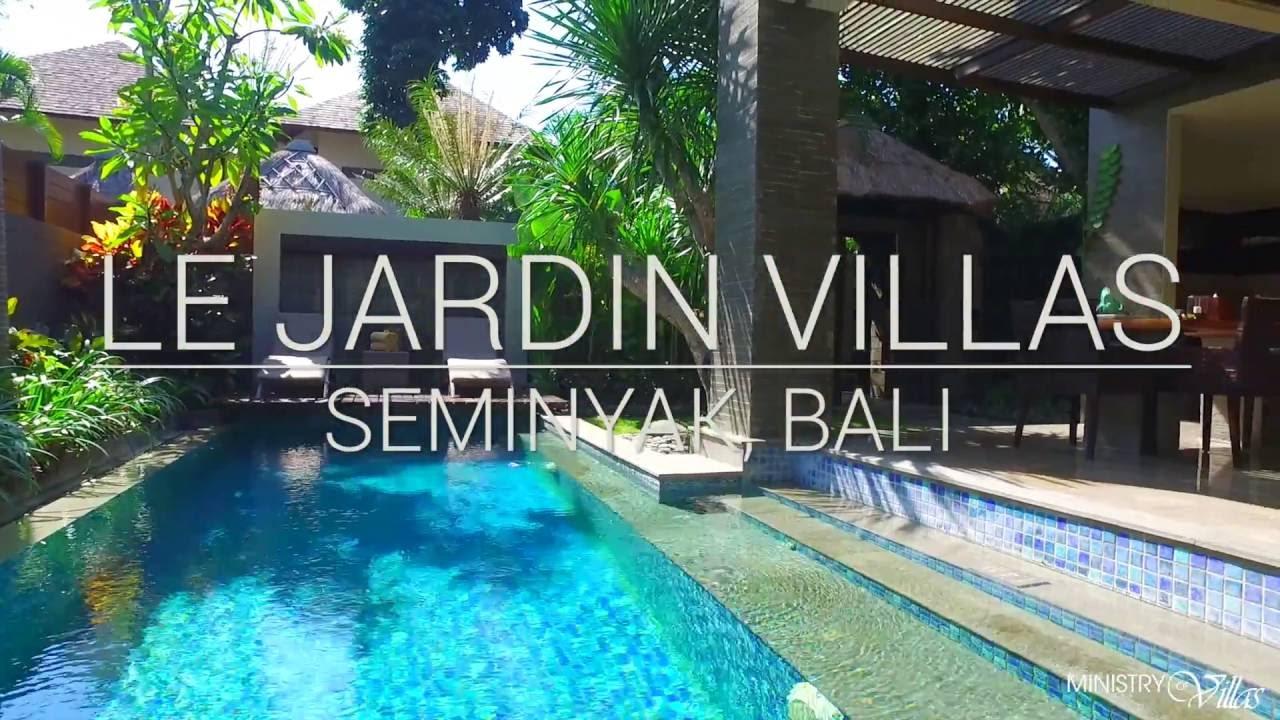 Le Jardin Villas - Seminyak, Bali - YouTube