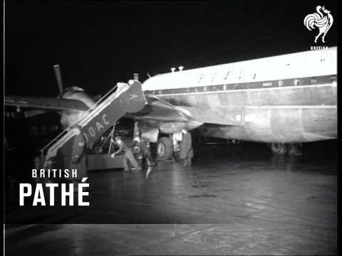 Selected Originals  Sir Winston Flies Out 1953