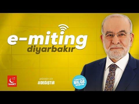 E-Miting Diyabakır   Cumhurbaşkanı Adayı Temel Karamolloğlu   06.06.2018
