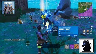NS Fortnite - Daily Challenge: Place Top 12 In Squads