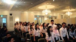 40th SSEAYP 2013 - TPY (Thailand) - Contingent cheer