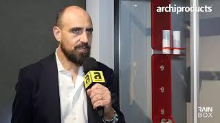 Salone Internazionale del Bagno 2018 | RAINBOX - Alessandro Rorato racconta Tratto e Segno