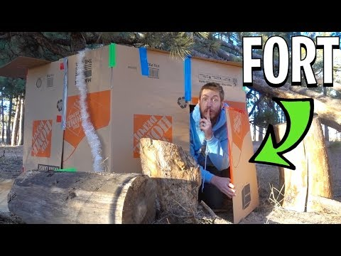 survival-box-fort-cabin!-(in-the-woods)