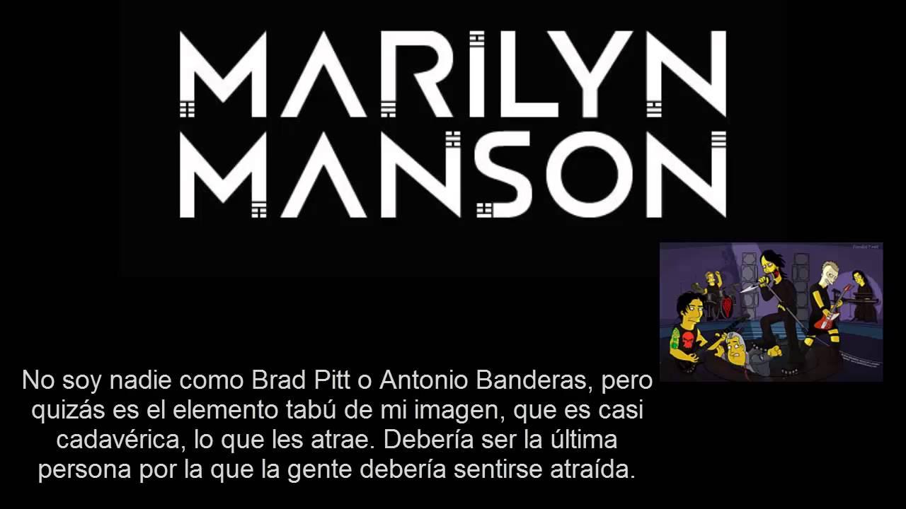 Marilyn Mansonlas Mejores Frases By Khalil Allah