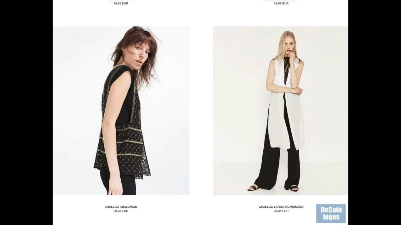 Chalecos de moda ZARA - Todos los modelos - YouTube