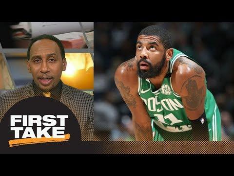 Stephen A Smith: Kyrie Irving injury threatens Celtics NBA playoff run  First Take  ESPN