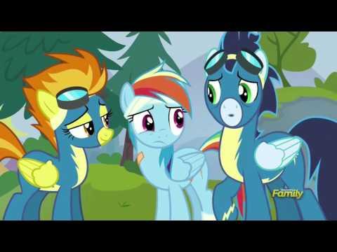 Rainbow Dash accepts her Wonderbolt nickname
