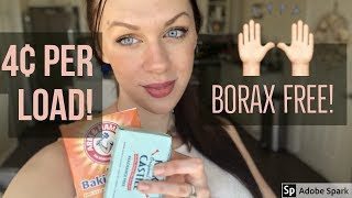 HOW TO MAKE HOMEMADE LAUNDRY DETERGENT: Non Toxic and Borax Free!