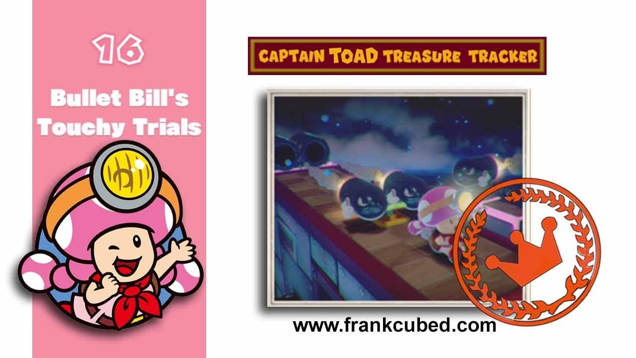 captain toad 100 bullet