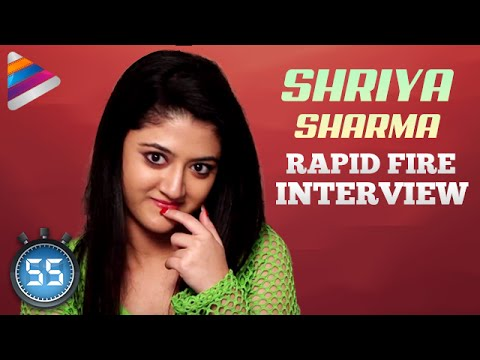 Shriya Sharma says NO To Love  s  Rapid Fire   Nirmala Convent Movie