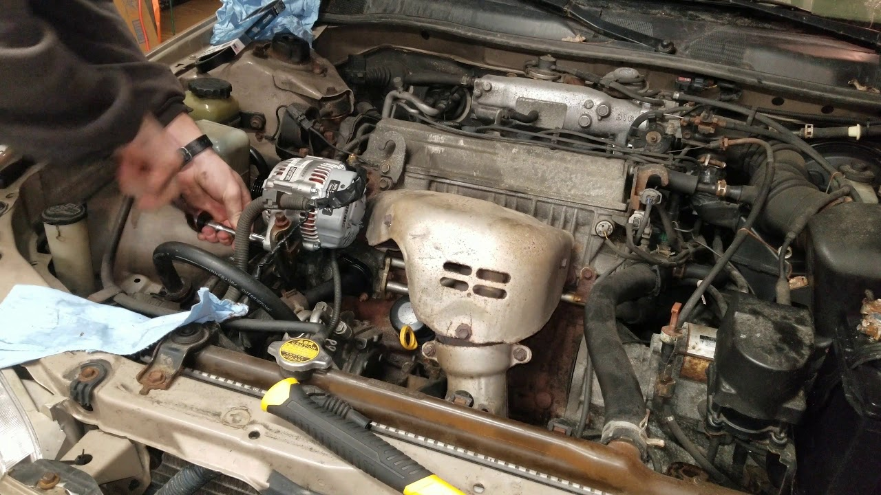 2000 toyota camry alternator replacement and wiring harness repair [ 1280 x 720 Pixel ]