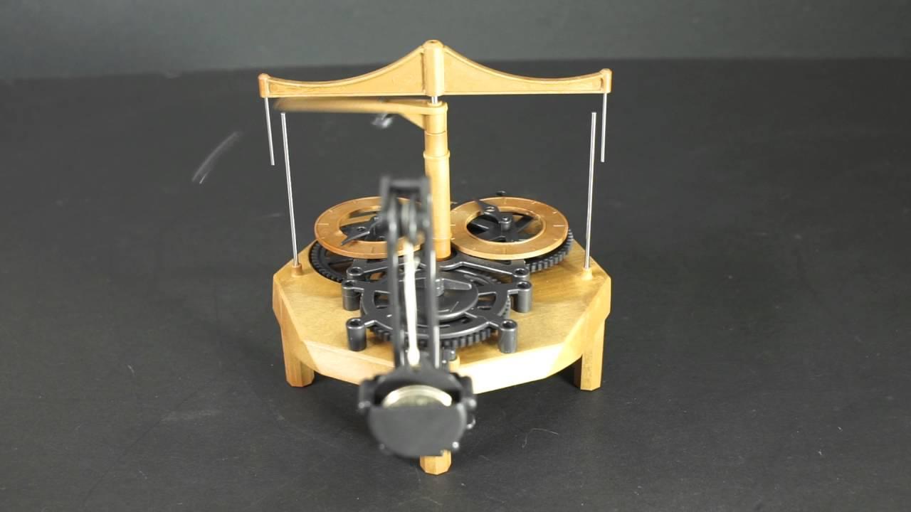 da vinci clock kit instructions