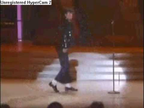 Michael Jackson's First Time Doing The Moonwalk!