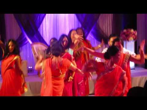 Indian Wedding Flash Mob Dance Inspiration