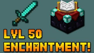► Minecraft: Level 50 Enchanted Sword! (MC 1.11.2)◄