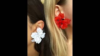 Latest flower Earrings For Women | Floral Studs Earrings Collection | Latest Jewellery Designs
