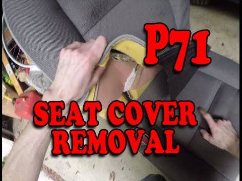 Seat Cover Removal P71 Crown Vic Police Interceptor Youtube