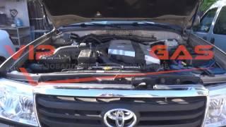 ГБО на Toyota Land Cruiser 100-Установка ГБО. Газ на Toyota Land Cruiser 100 (ГБО ХАрьков)