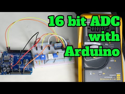 ADS1115 16 Bit ADC Module With Arduino