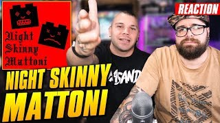 Night Skinny - Mattoni ( Disco completo ) REACTION by Arcade Boyz