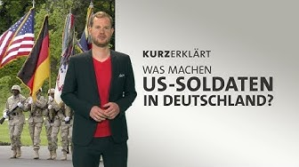 #kurzerklärt: Was machen US-Soldaten in Deutschland?