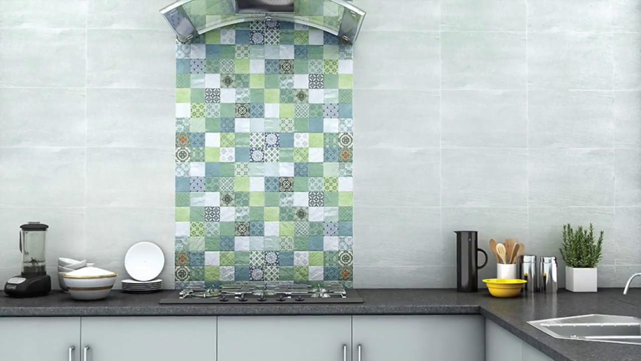 Image Of Kitchen Wall Tiles Nitco Lambada Cream Ceramic Tiles Tiles ...