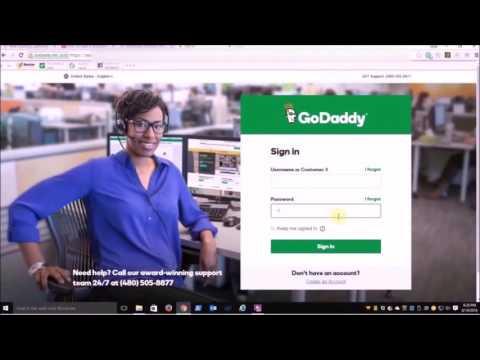 Installing WordPress on GoDaddy