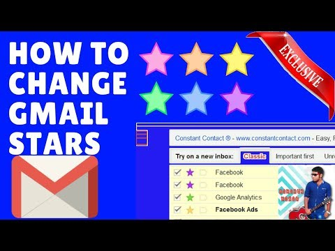 How To Change The Colour Of Gmail Stars Icon (Only Tutorial On YouTube)