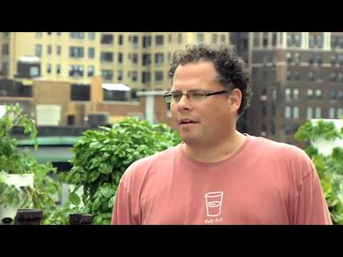 Future Growing® Rooftop Tower Garden® Farm At The Bell Book And Candle Restaurant In Manhattan