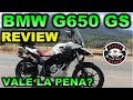 BMW G650 GS | Review en Español con Blitz Rider