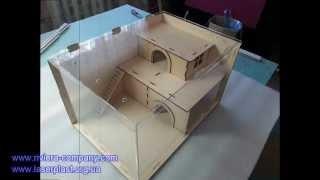 Домик для грызунов (хомячков, крыс, морских свинок)