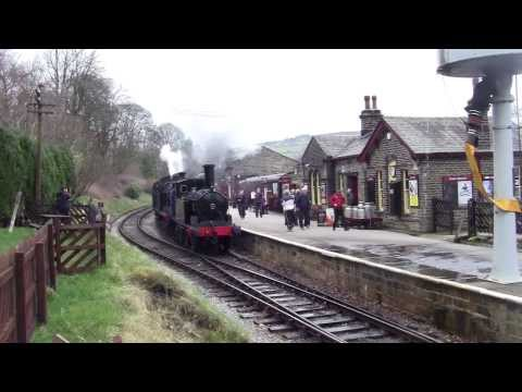 Keighley and Worth Valley Railway - Winter Steam Spectacular 2014 - Oxenhope Station