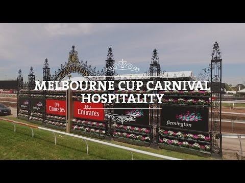 Melbourne Cup Carnival 2016 - Corporate & Public Hospitality