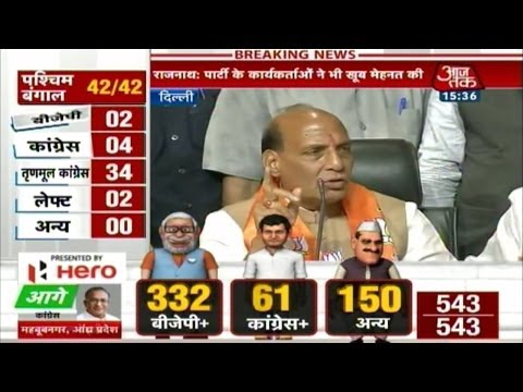Lok Sabha poll results: BJP press conference (Full)