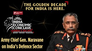 Evolving Security Scenario For India | General M M Naravane | India Economic Conclave 2021