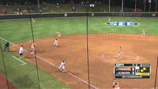 Auburn wins 2015 SEC Softball Tournament