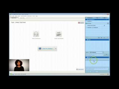 Webinar tutorial (panelist)