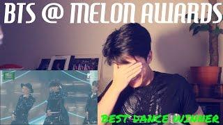 BTS I NEED U @MELON AWARDS (BEST DANCE WINNER!! WOO!!)