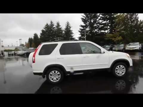 2006 Honda CR-V SE | White | 6C045784 | Seattle | Renton