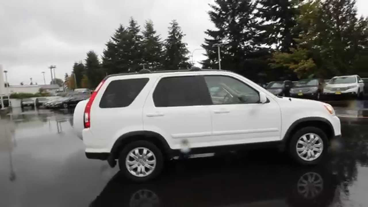 2006 Honda CRV SE  White  6C045784  Seattle  Renton  YouTube
