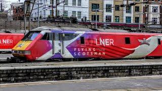 Trains at London King's Cross | 10/01/2019