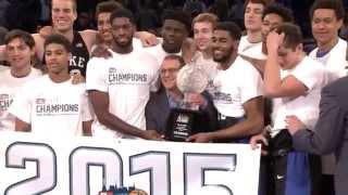 Duke Basketball | 2015 2K Classic Champions