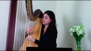 Sarabande and Double from Violin Partita no. 1, BWV 1002 by J. S. Bach, trans. Marcel Grandjany
