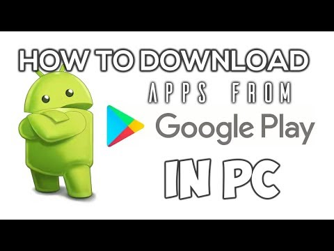 How To Download Android Apps On PC!! Direct Download