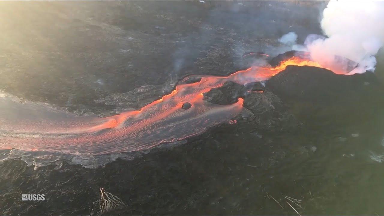 Kīlauea Volcano — Morning Overflight (June 19, 2018)
