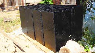 Столбчатый фундамент под баню своими руками (схема, видео)