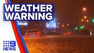 Parts of NSW flooded as rainy weather continues | 9 News Australia