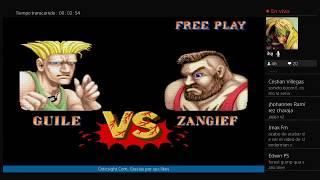 Jugando Street Fighter 30 Anniversary Collection